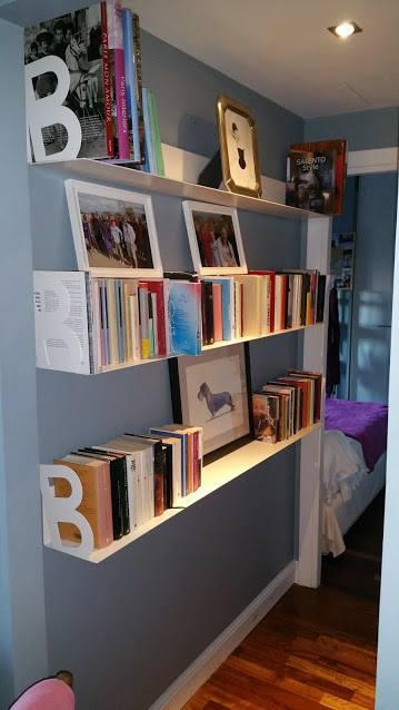 libreria a mensole